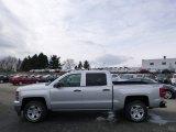2014 Silver Ice Metallic Chevrolet Silverado 1500 LT Z71 Crew Cab 4x4 #89714498