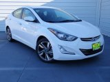 2014 White Hyundai Elantra Limited Sedan #89714109