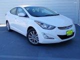 2014 White Hyundai Elantra SE Sedan #89714108