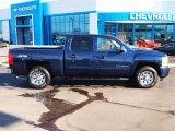 2010 Imperial Blue Metallic Chevrolet Silverado 1500 LS Crew Cab 4x4 #89713882