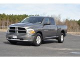 2012 Mineral Gray Metallic Dodge Ram 1500 SLT Quad Cab #89714291