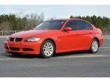 2006 Electric Red BMW 3 Series 325i Sedan #89714288