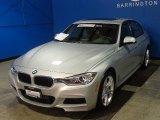 2014 Glacier Silver Metallic BMW 3 Series 335i xDrive Sedan #89761770