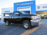 2013 Black Chevrolet Silverado 1500 LS Regular Cab #89762170