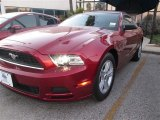 2014 Ruby Red Ford Mustang V6 Coupe #89761865