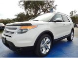 2014 White Platinum Ford Explorer Limited #89761938