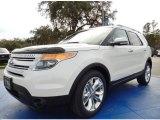 2014 White Platinum Ford Explorer Limited #89761938