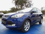 2014 Deep Impact Blue Ford Escape Titanium 1.6L EcoBoost #89761933