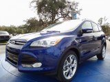 2014 Deep Impact Blue Ford Escape Titanium 2.0L EcoBoost #89761932