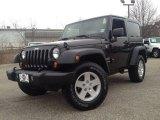 2011 Black Jeep Wrangler Sport 4x4 #89761751