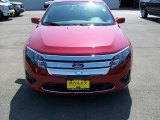 2010 Sangria Red Metallic Ford Fusion SE #8966721