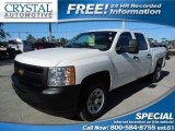 2012 Summit White Chevrolet Silverado 1500 Work Truck Crew Cab #89762332