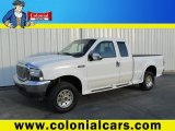 2004 Oxford White Ford F250 Super Duty XL SuperCab 4x4 #89762427