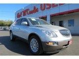 2009 Quicksilver Metallic Buick Enclave CXL AWD #89761895