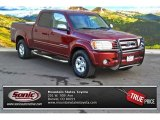 2005 Salsa Red Pearl Toyota Tundra SR5 Double Cab 4x4 #89761718
