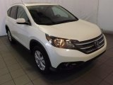 2014 White Diamond Pearl Honda CR-V EX-L #89761804