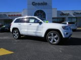 2014 Bright White Jeep Grand Cherokee Limited #89762105