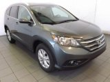 2014 Polished Metal Metallic Honda CR-V EX-L #89761799