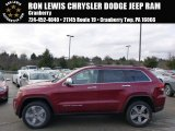 2014 Deep Cherry Red Crystal Pearl Jeep Grand Cherokee Limited 4x4 #89817083
