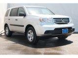 2014 Alabaster Silver Metallic Honda Pilot LX #89817158