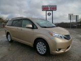 2011 Sandy Beach Metallic Toyota Sienna XLE AWD #89817409