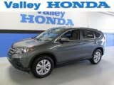 2012 Polished Metal Metallic Honda CR-V EX 4WD #89816983