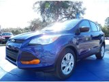 2014 Deep Impact Blue Ford Escape S #89817066