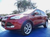 2014 Ruby Red Ford Escape Titanium 2.0L EcoBoost #89817060