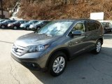 2014 Polished Metal Metallic Honda CR-V EX AWD #89817057