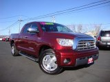 2007 Salsa Red Pearl Toyota Tundra Limited Double Cab #89817315