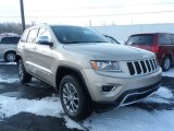 2014 Cashmere Pearl Jeep Grand Cherokee Limited 4x4 #89817482