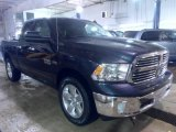 2014 True Blue Pearl Coat Ram 1500 Big Horn Quad Cab 4x4 #89817481
