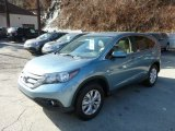 2014 Mountain Air Metallic Honda CR-V EX AWD #89817048