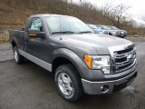 2014 Sterling Grey Ford F150 XL Regular Cab #89817113