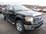 2014 Tuxedo Black Ford F150 XLT SuperCrew 4x4 #89817111