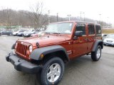 2014 Copperhead Pearl Jeep Wrangler Unlimited Sport 4x4 #89817298