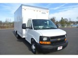 2014 Summit White Chevrolet Express Cutaway 3500 Moving Van #89817387