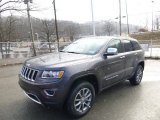 2014 Granite Crystal Metallic Jeep Grand Cherokee Limited 4x4 #89817295