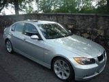 2007 Titanium Silver Metallic BMW 3 Series 335i Sedan #8966243