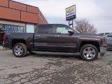 2014 Brownstone Metallic Chevrolet Silverado 1500 LTZ Z71 Crew Cab 4x4 #89817015