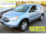 2011 Glacier Blue Metallic Honda CR-V EX 4WD #89858150
