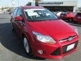 2012 Red Candy Metallic Ford Focus SEL 5-Door #89858107