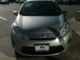 2013 Ingot Silver Ford Fiesta S Sedan #89858141