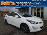 2014 White Hyundai Elantra Limited Sedan #89858306