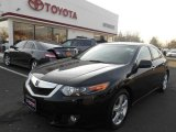 2009 Crystal Black Pearl Acura TSX Sedan #89858299