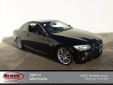 2011 Jet Black BMW 3 Series 335i Convertible #89858214