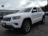 2014 Bright White Jeep Grand Cherokee Limited 4x4 #89858037
