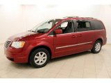 2010 Chrysler Town & Country Deep Cherry Red Crystal Pearl
