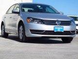 2014 Reflex Silver Metallic Volkswagen Passat 2.5L S #89882716