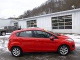 2013 Race Red Ford Fiesta SE Hatchback #89882384